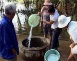 Xử lý nhanh nguồn nước bẩn tại nhà