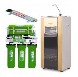 Máy lọc nước kangaroo KG110 có đèn UV vỏ tủ VTU