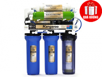 Máy lọc nước Kangaroo 7 lõi lọc 3 trong 1 KG107 không tủ