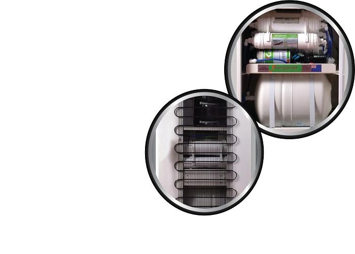 máy lọc nước kg100hk dễ dàng sử dụng